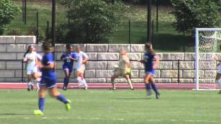 2015 JMU Women's Soccer - Seton Hall Highlights - 8/23/15