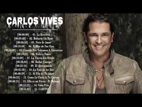 Las 20 mejores canciones de Carlos Vives Carlos Vives Grandes Exitos Enganchados mix