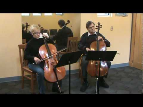 Habanera from Carmen by Bizet - Duet Music for Novice Cello Players by E and E Cello Music