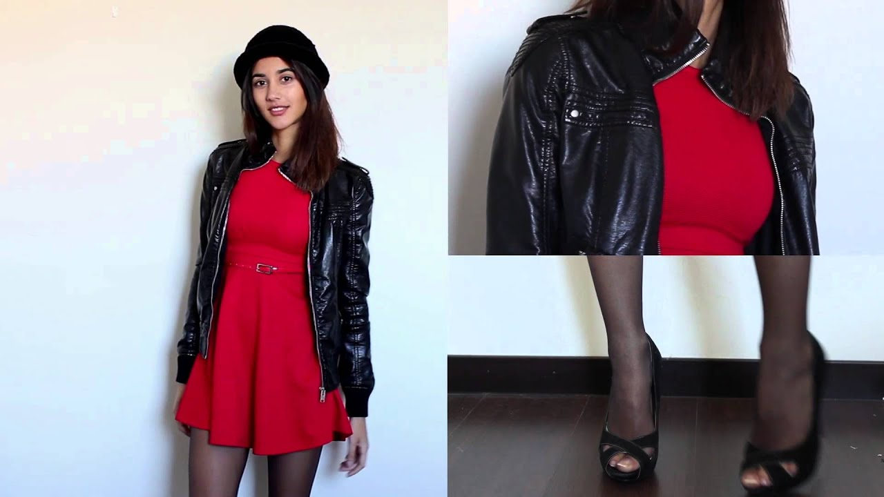 Vestido Rojo Outfits Ideas Red Dress