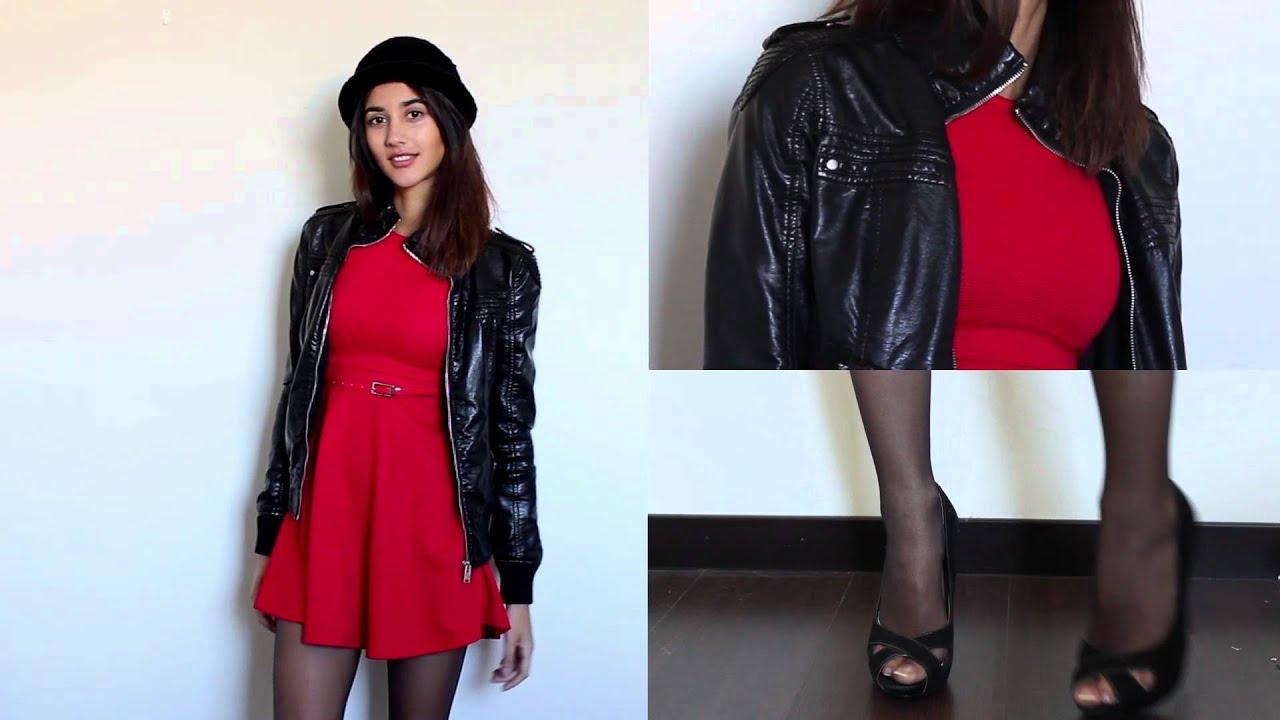 Vestido rojo / Outfits Ideas / Red Dress - YouTube