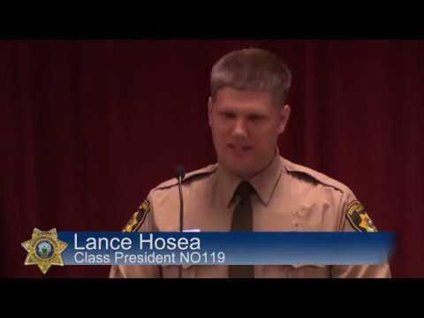 North Idaho College Basic Patrol Academy Commencement 2019