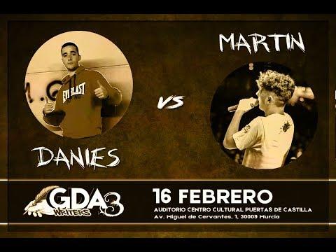 #GDAwriters3 MARTIN vs DANIES Batalla Escrita