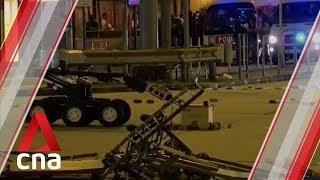 Hong Kong bomb squad robot detonates suspected bomb