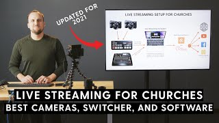 Church Live Streaming Setup 2021 | Best Cameras, Switcher, Software, and Multi-Streaming Platforms screenshot 3