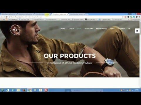 Avada ECommerce and WooCommerce Tutorial