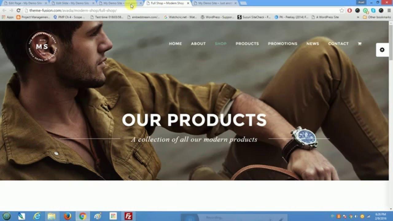 Avada ecommerce and woocommerce tutorial youtube avada ecommerce and woocommerce tutorial baditri Choice Image