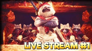 Dapperling Expeditions! – Monster Hunter World Gameplay – Live Stream 1