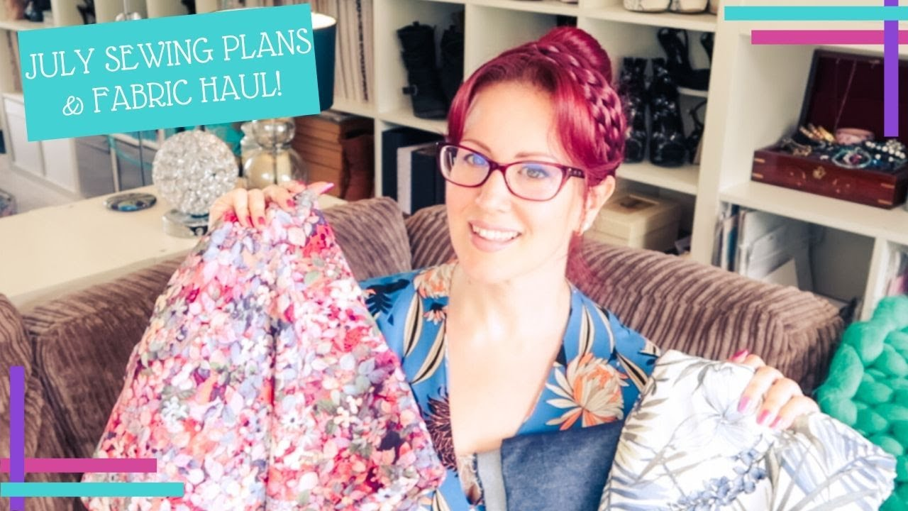 July 2020 :: Sewing Plans and Fabric Haul :: I Want All The Denim Things