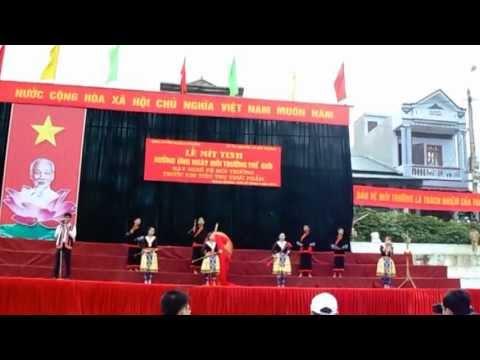 Lao Cai mua xuan   Bieu dien Thanh Trung    Doi thong tin  luu dong Van hoa Muong Khuong   QFim Hoan