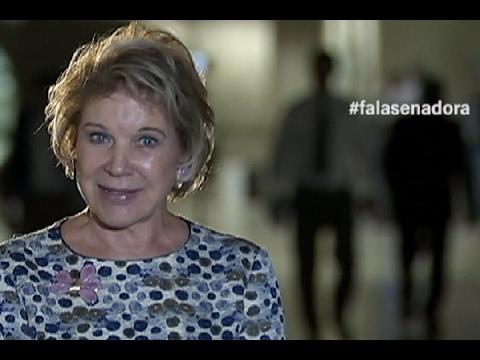 #falasenadora: Marta comemora aumento da pensão a portador da síndrome de talidomida