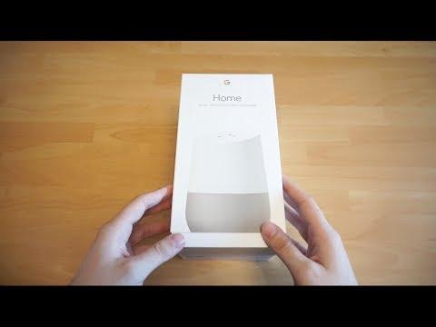 Google Home (Deutsche Version) Unboxing und Erster Eindruck  (Deutsch)