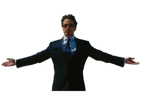 tony stark dancing we no speak americano