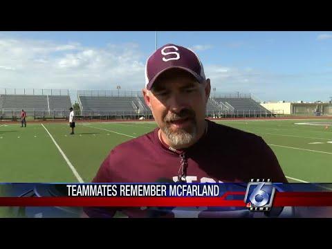 Sinton High School student athlete Gavin McFarland remembered