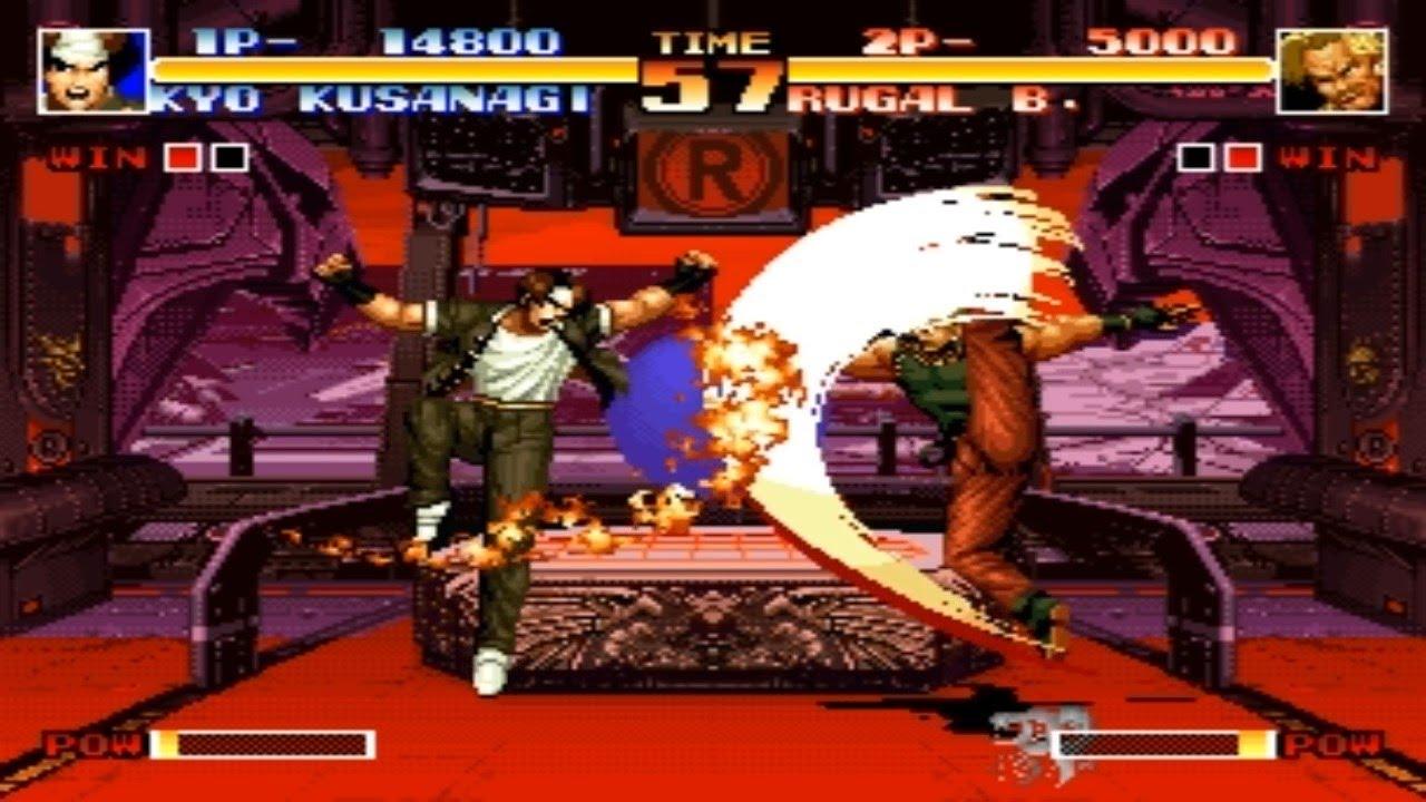 [TAS] Kyo VS Rugal (KoF '94)
