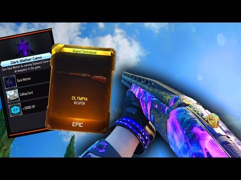 *NEW* OLYMPIA DLC WEAPON in BLACK OPS 3! UNLOCKING DARK MATTER CAMO on THE OLYMPIA! (NEW DLC WEAPON)