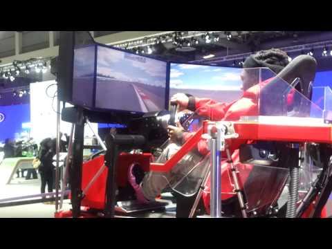 2013 Washington D.C Car Show Ford Race Simulation