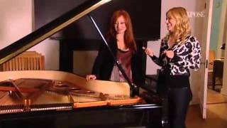 Tori Amos shows her holiday home @ Xpose TV show 2011