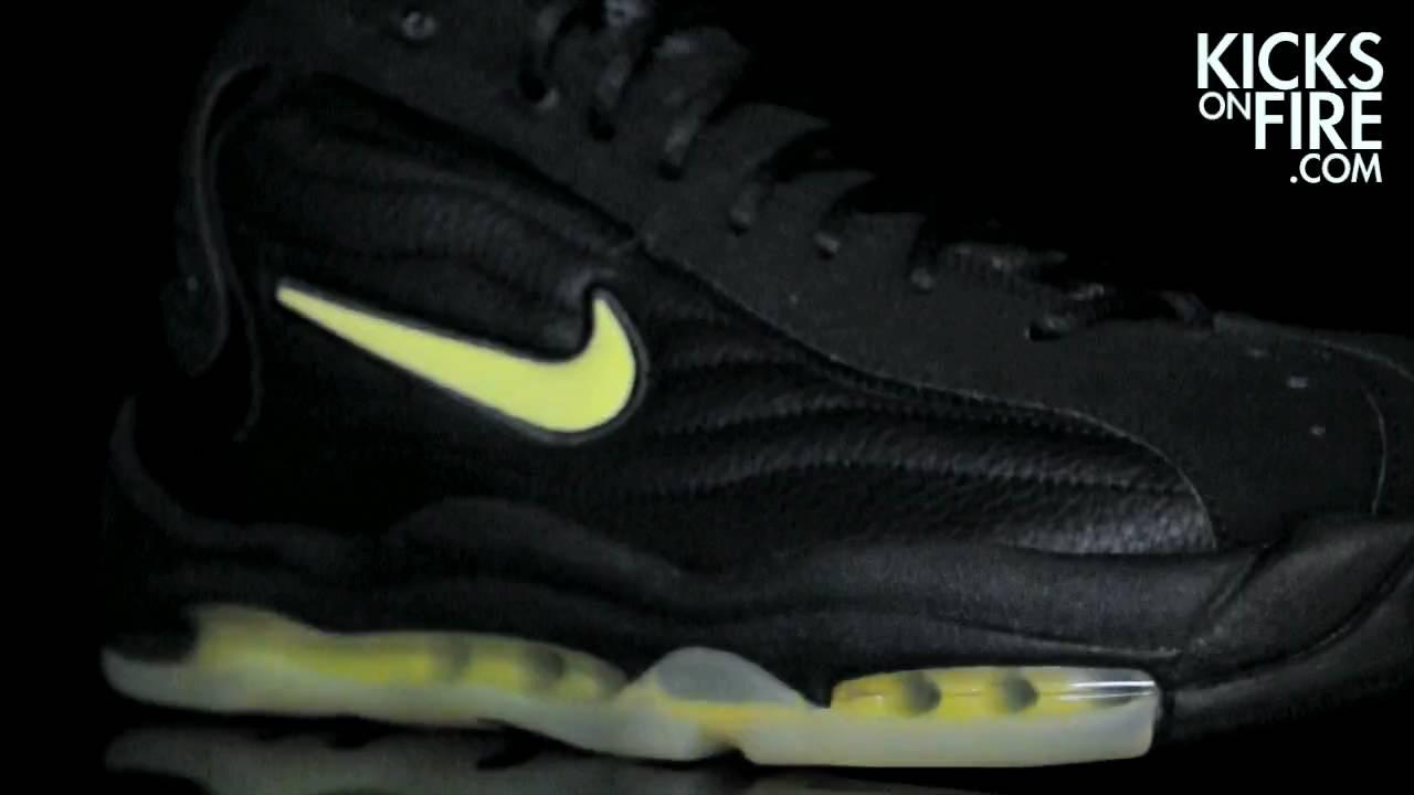 Nike Uptempo Black Volt