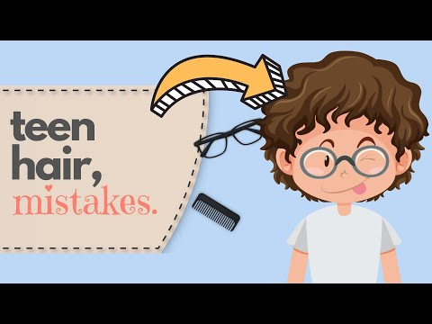 5 BIGGEST Hairstyle Mistakes MOST TEENAGERS Make   BEST Teen Hair Tips For a BETTER Hairstyle! thumbnail