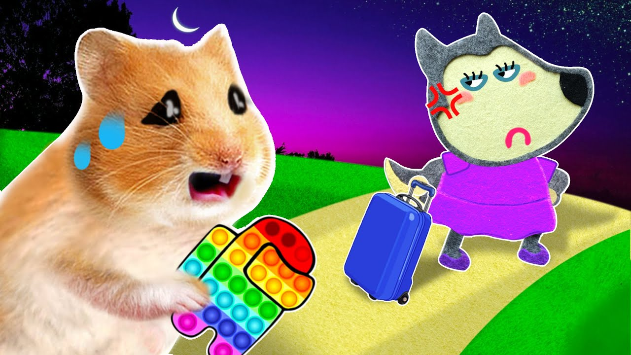 Mommy, I'm Sorry! Please Come Back Home! - Funny  Pop It Hamster Cartoon by Life Of Pets Hamham