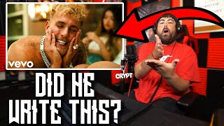 CRYPT REACTS to Jake Paul - Fresh Outta London (Official Music Video)