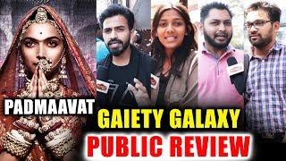 Padmaavat Public Review - Gaiety Galaxy - Housefull - Deepika, Ranveer, Shahid