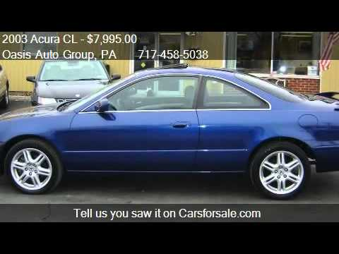 Acura CL TypeS Speed AT For Sale In Oasis Auto Gro YouTube - 2003 acura cl type s for sale
