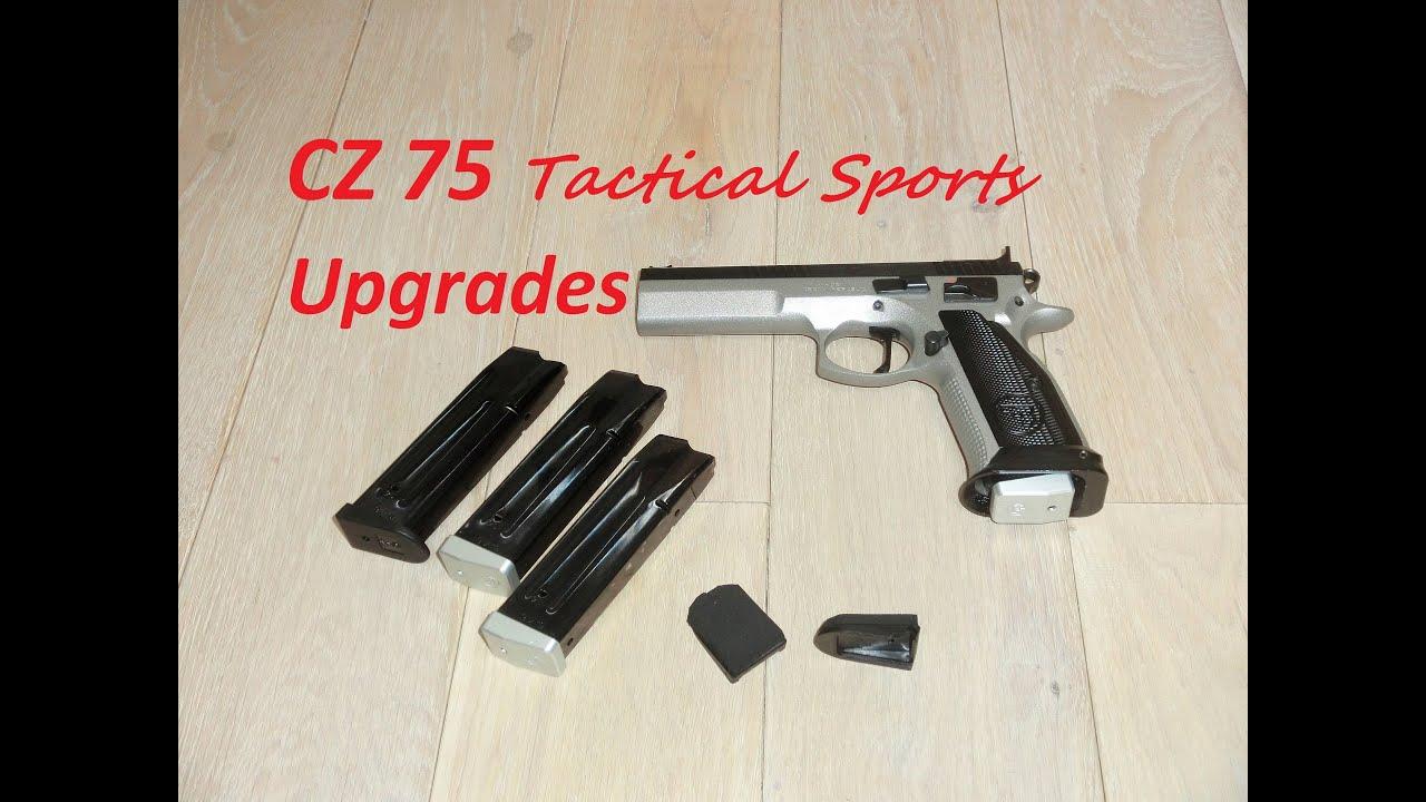CZ 75 Tactical Sports - Upgrades