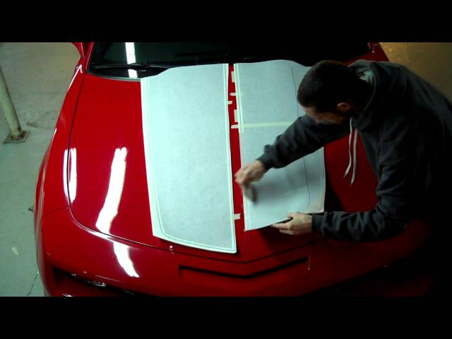 Racing Stripe Application