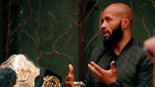 Demetrious Johnson UFC on FOX 24 Media Lunch - MMA Fighting