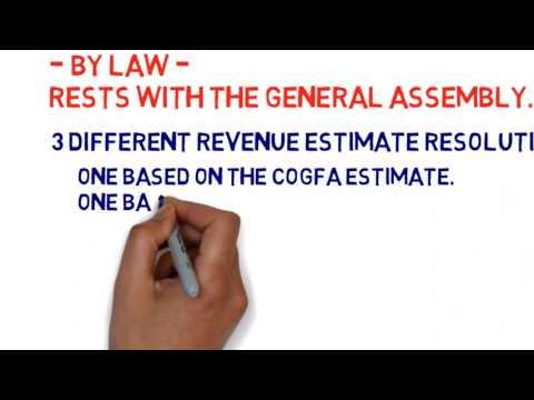 Illinois Budget Step 1: Adopt a Revenue Estimate