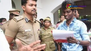 Dance Master Sherif Talks about Cinematography with Vijay