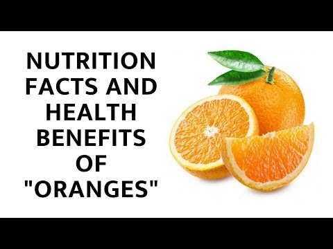 Nutrition Facts and Health Benefits of Oranges