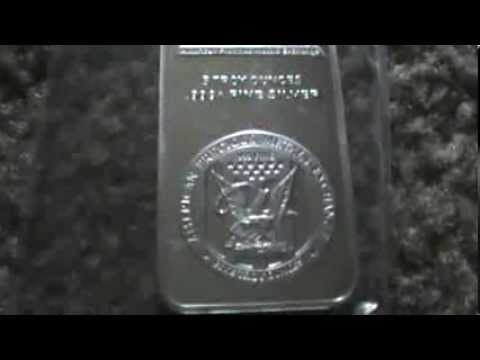 unboxing 5oz apmex .999 silver bar ( amazing company )