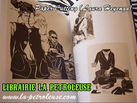 Livre / Book PAPER CUTTING - Laura Heyenga (Chronicle Books)