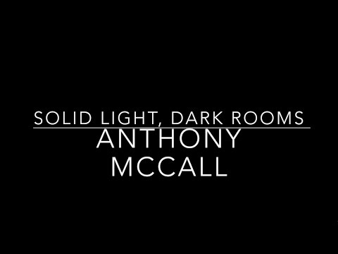 Anthony McCall - 'Solid Light, Dark Rooms'