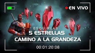 5 ESTRELLAS, Esquirlas en Camino a la Grandeza | Marvel Contest of Champions