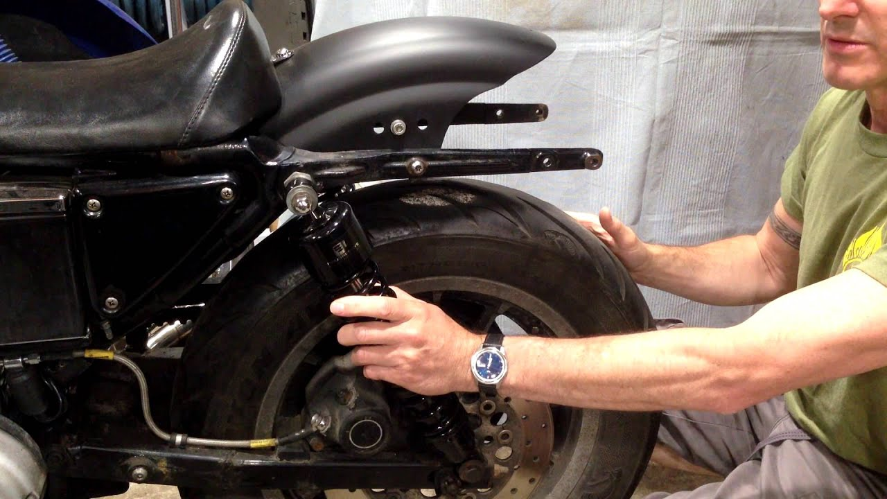Sportster: Rear Fender Chop Part 2