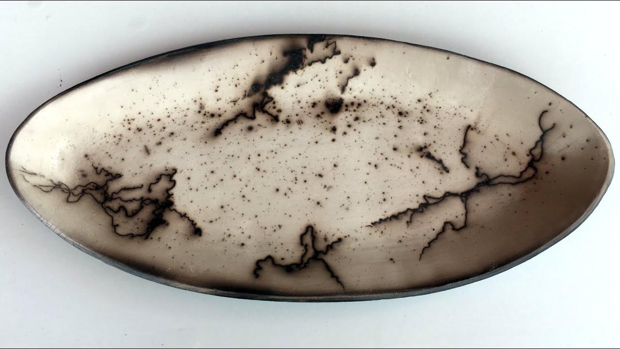 Räuchern mit Rosshaaren bei Edith Höfliger | Raku keramik