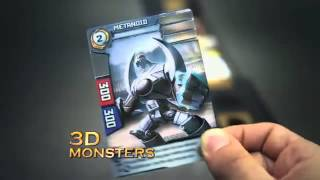 Spin Master - Redakai - 3D Monsters - Trading Card Game