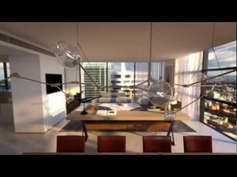Lumiere tri-level penthouses
