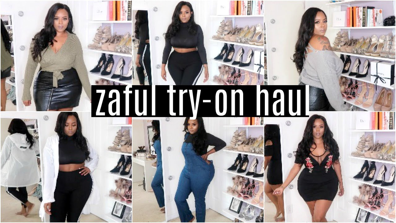 $250 ZAFUL TRY ON HAUL | Is It Really Worth It?! | Try On Haul- Dress, Plus  Size, Curvy + GIVEAWAY