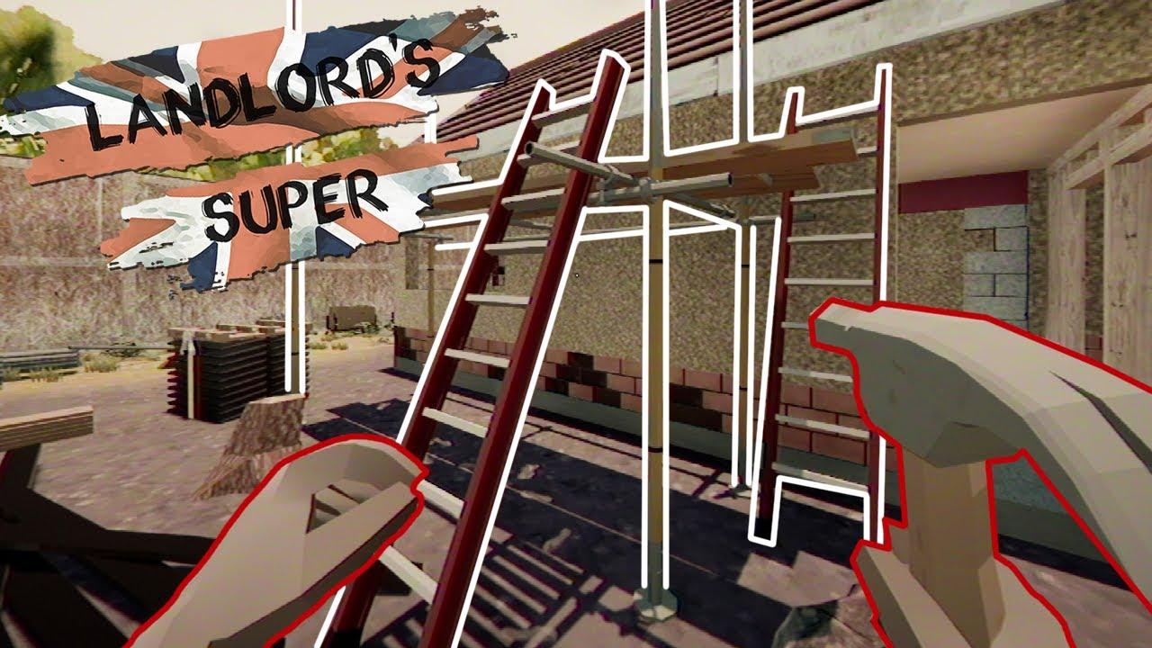 Rusztowanie i urlop na żądanie! - Landlord's Super #5