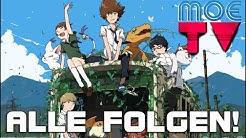 Digimon Tri: Saikai | Alle Folgen 1-4 | GerSub