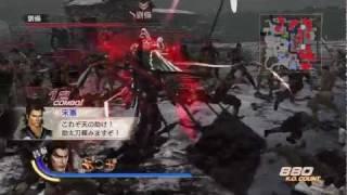 Dynasty Warriors 7: Xtreme Legends (JPN) - Lu Bu Gameplay (Nightmare Difficulty) [HD]