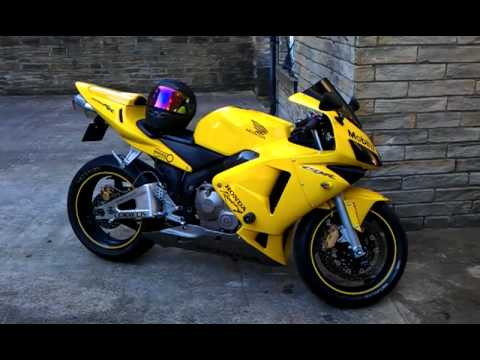 Honda Cbr 600 Walk Around One Of A Kind 2004 2005 Yellow