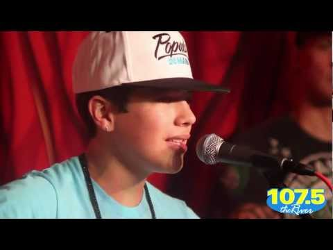 Austin Mahone Performs 11:11 At 1075 The River