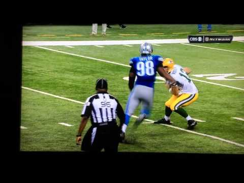 Aaron Rodgers 61 Yard Hail Mary
