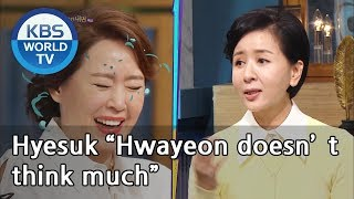 "Hyesuk ""Hwayeon doesn't think much""[Happy Together/2019.03.21]"